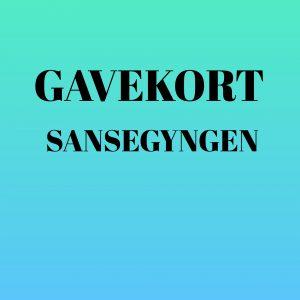 Køb dit gavekort til Sansegynge.dk